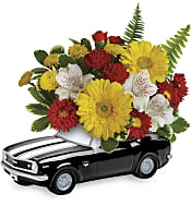'67 Chevy Camaro Bouquet Flowers